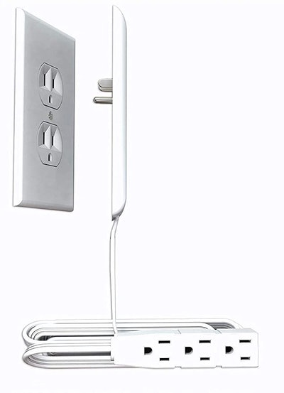 Sleek Socket Ultra-Thin Electrical Outlet Cover with Outlet Power Strip