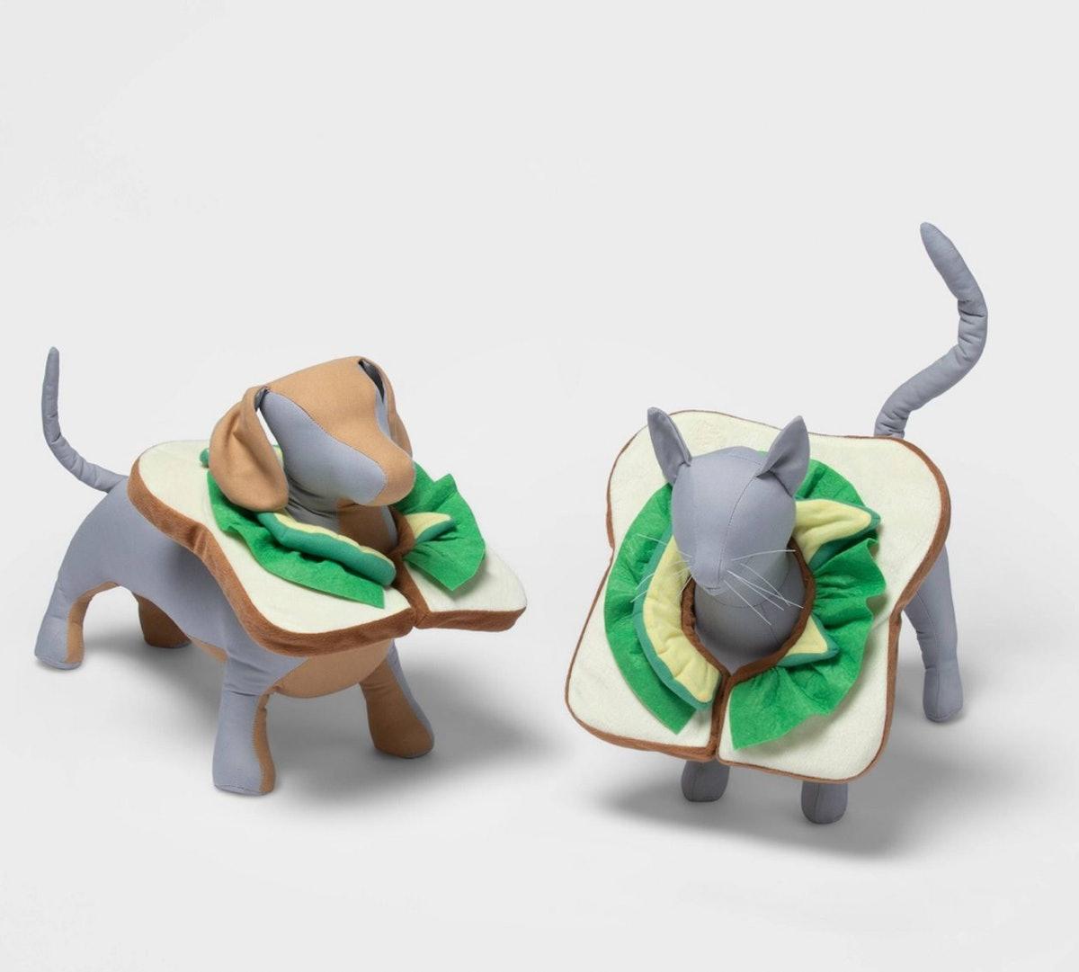 Avocado Toast Dog and Cat Costume