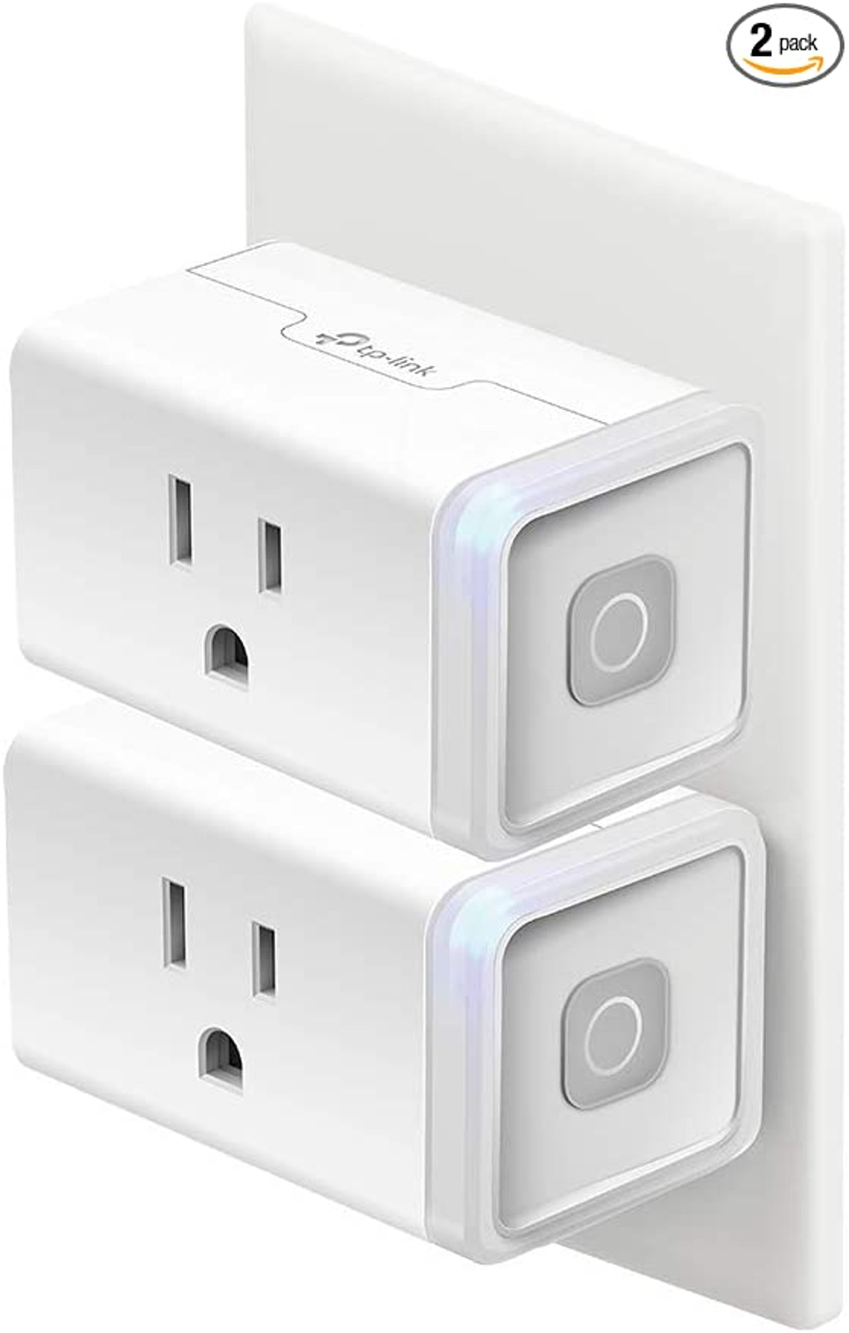 Kasa Smart Home Wi-Fi Outlet (2-Pack)