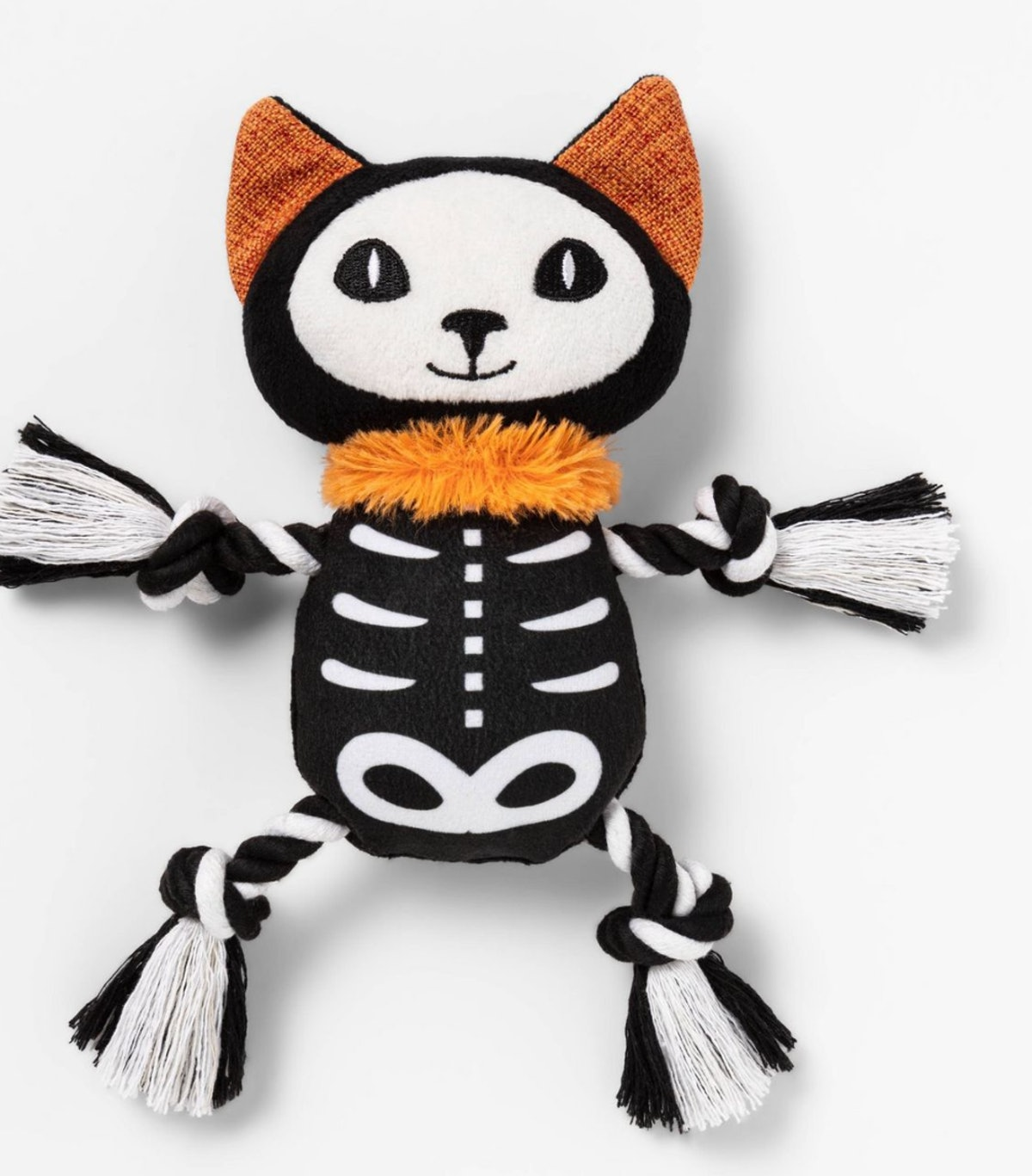 Skeleton with Rope Dog Toy