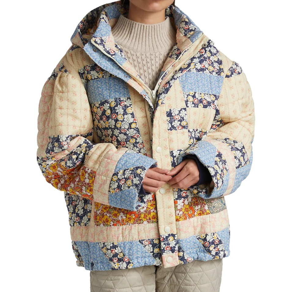 Sydney Patchwork Puffer Jacket