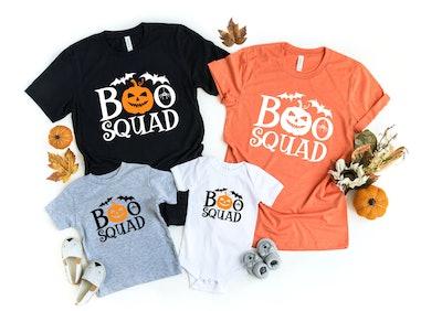 Boo Squad Family Shirts