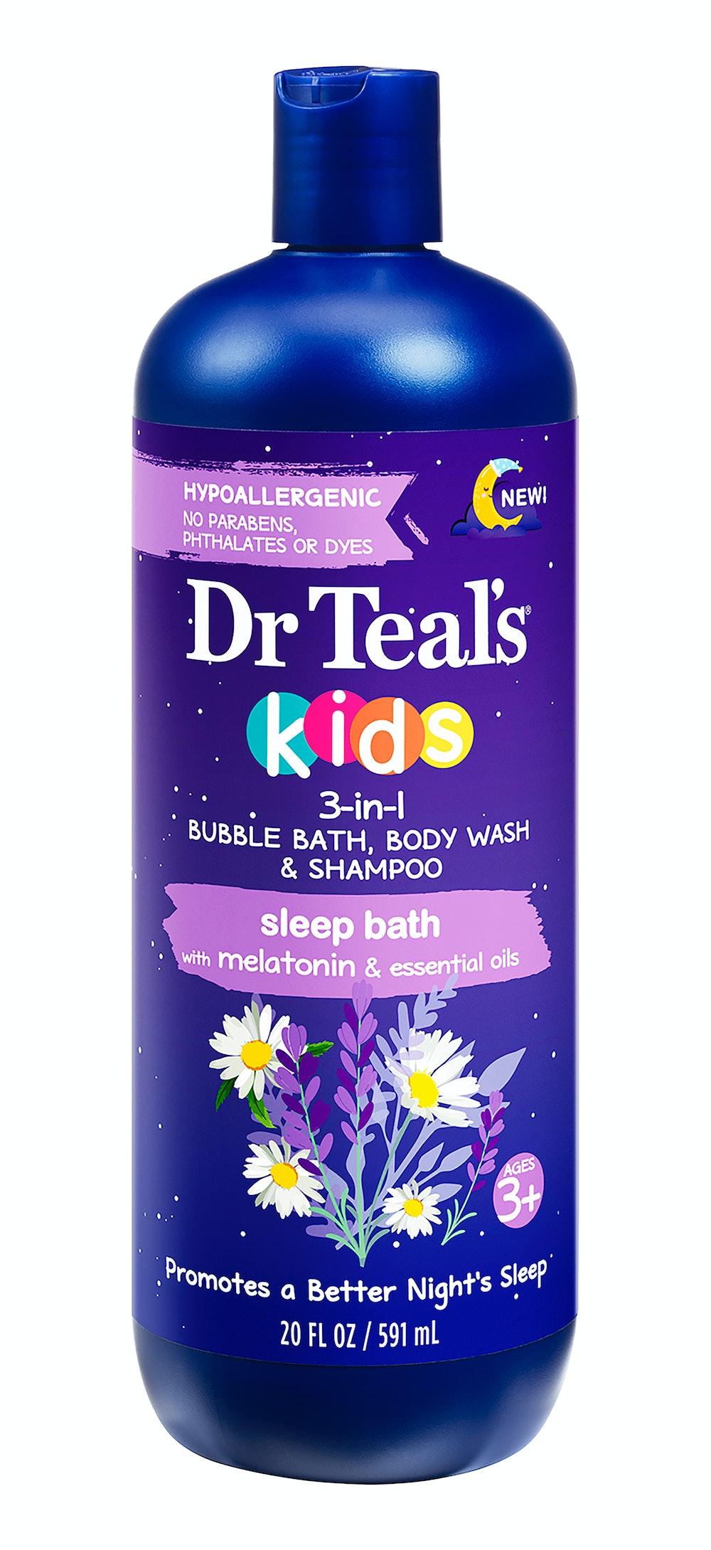Kids Melatonin 3 in 1 Bubble Bath, Body Wash and Shampoo