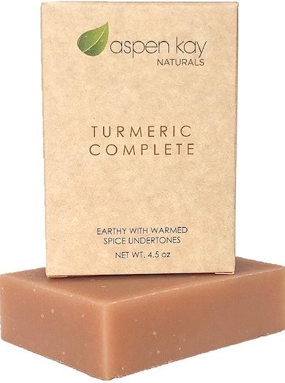 Aspen Kay Naturals Organic Turmeric Soap, 4.5 Oz.