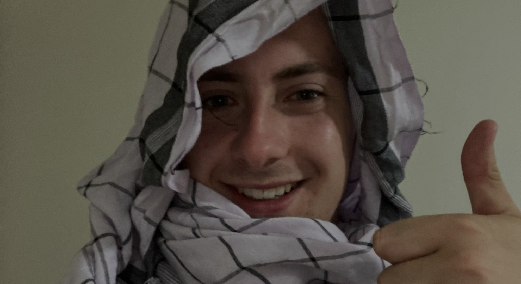 British student and 4channer Miles Routledge wearing a burqa in Afghanistan