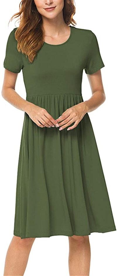 DB MOON Short Sleeve Dress