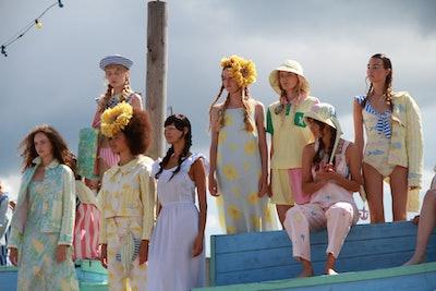 Helmstedt Spring 2022 runway show at Copenhagen Fashion Week.