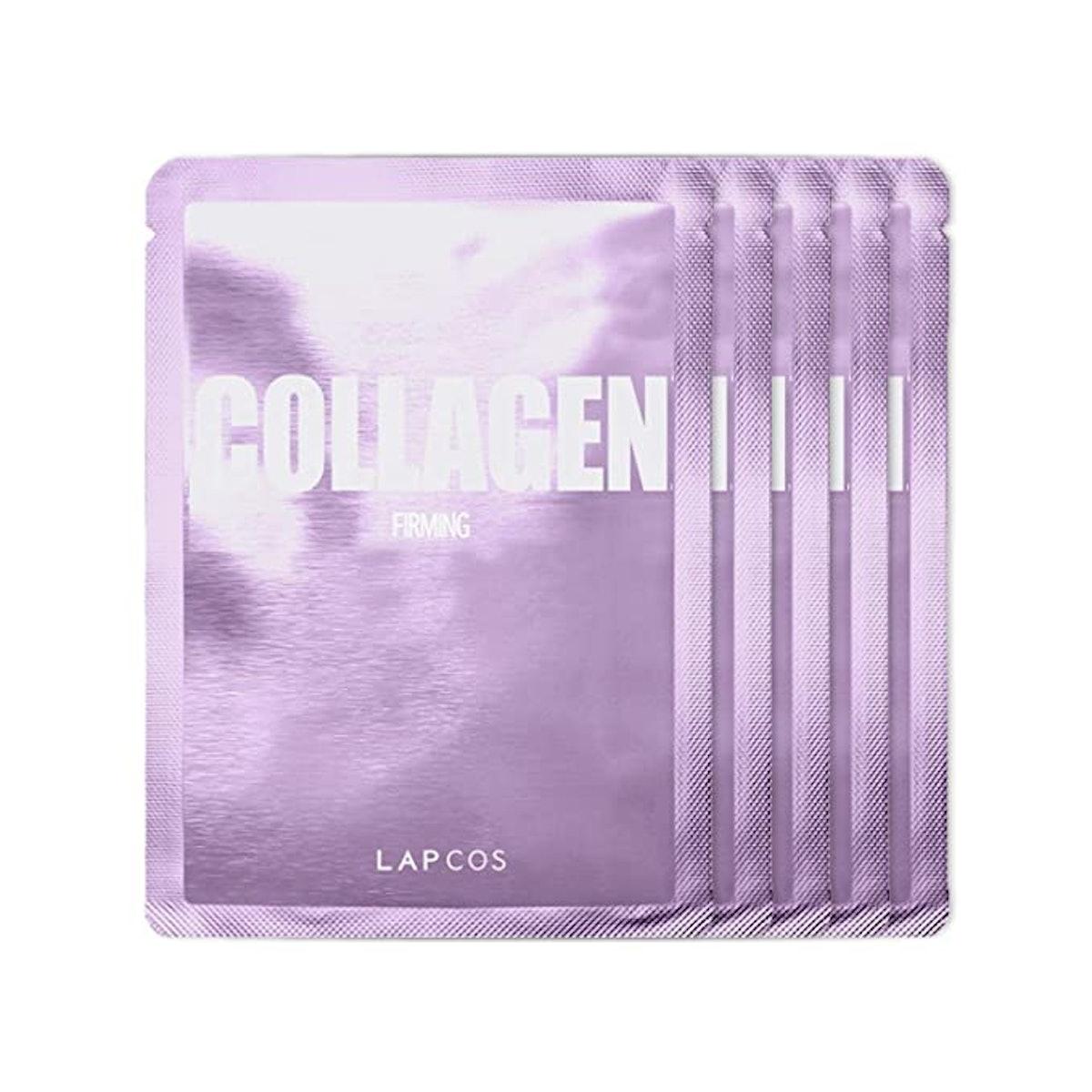 LAPCOS Collagen Sheet Mask (5-Pack)