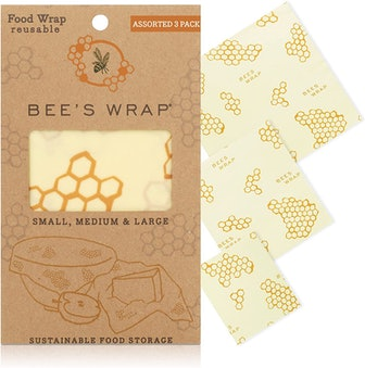 Bee's Wrap Reusable Beeswax Food Wraps (3-Pack)