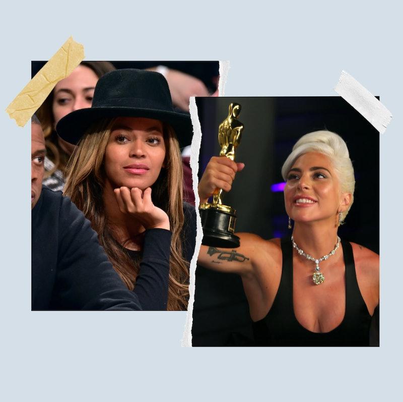 Beyoncé and Lady Gaga.