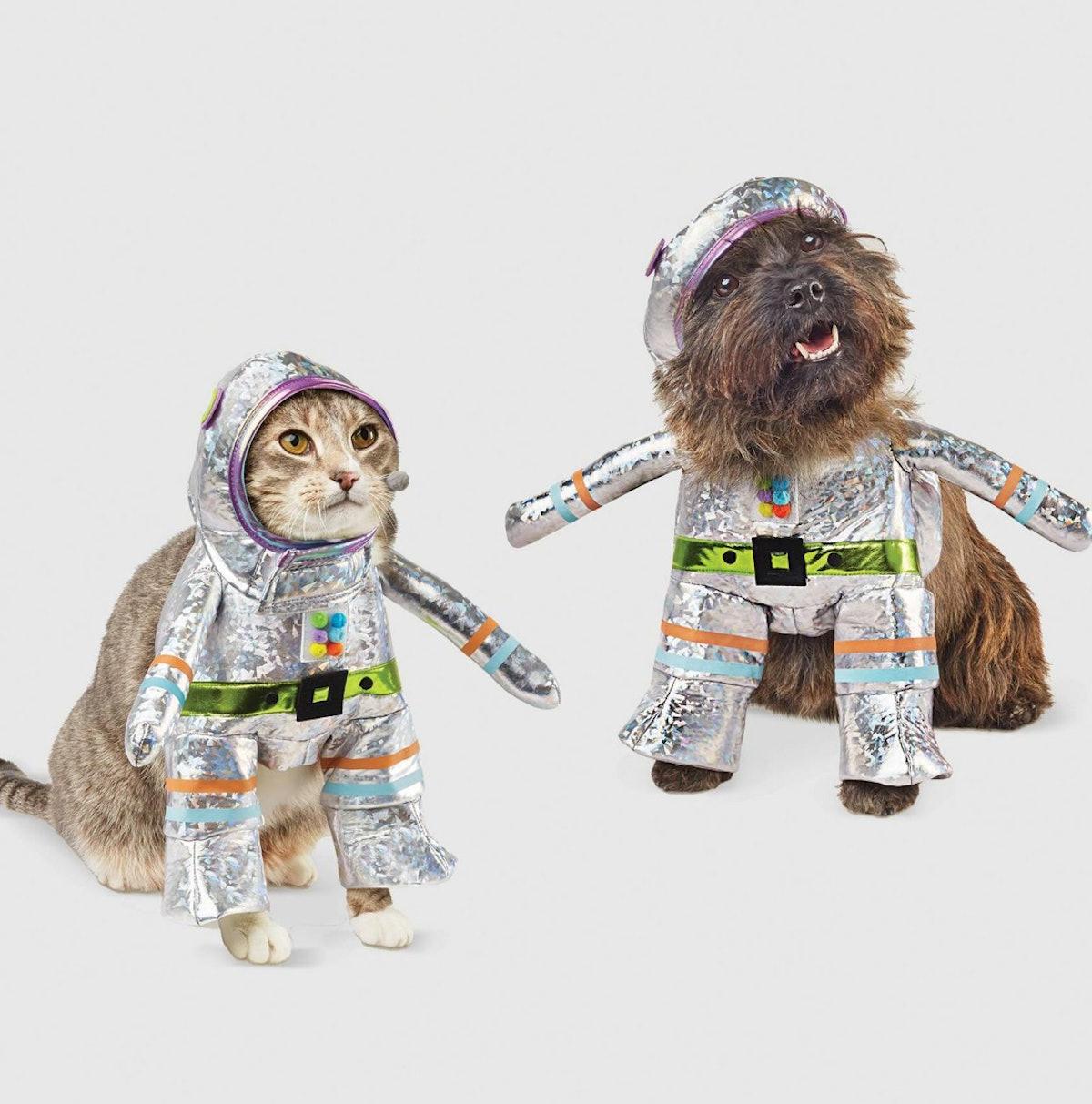 Robot Halloween Dog and Cat Costume