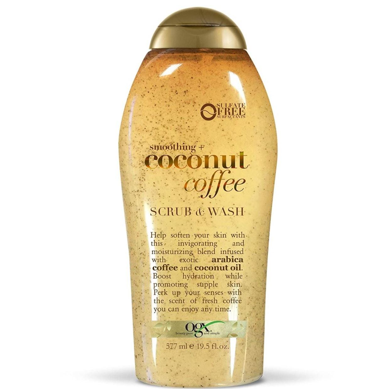 OGX Coffee Scrub and Wash