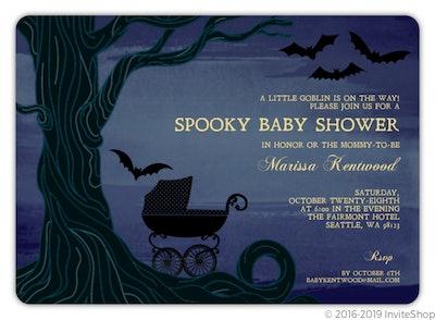Twilight Sky Halloween Baby Shower Invitation, 20 ct.