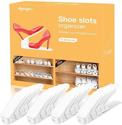 AQUAPRO Shoe Slots Organizer