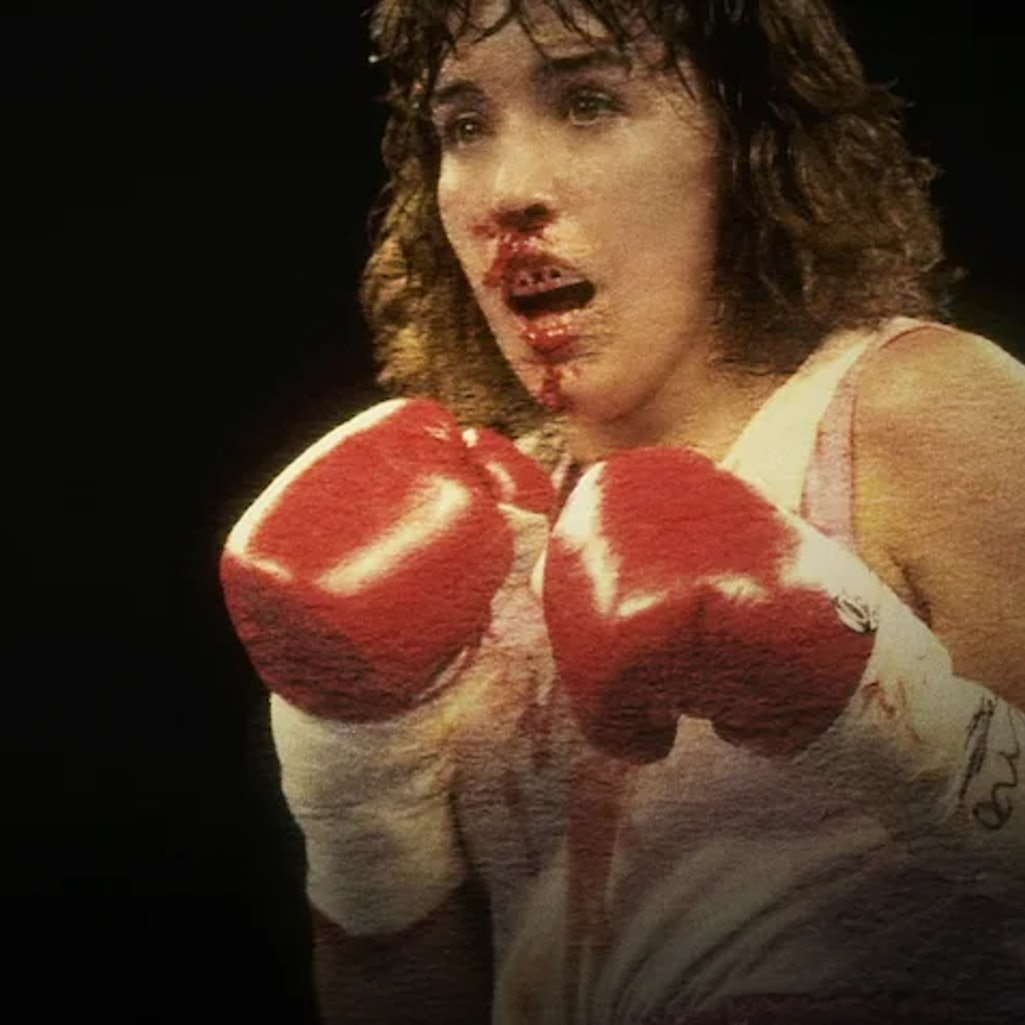 Boxer Christy Martin in the Netflix documentary 'Untold: Deal With the Devil.'
