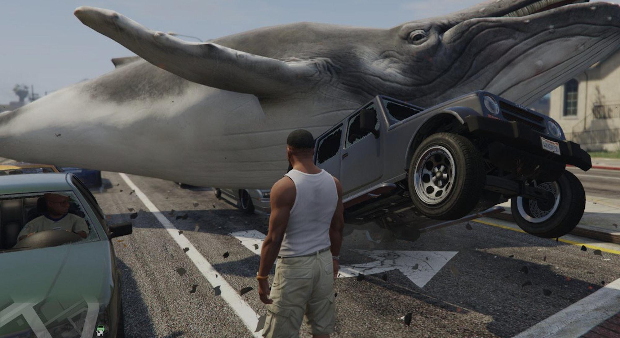 A still of a mod from GTA V