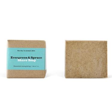 Evergreen & Spruce Shave Bar