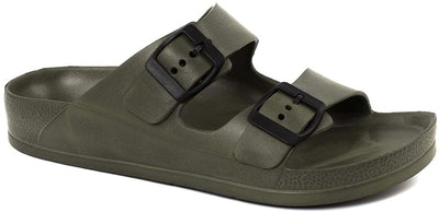 FUNKYMONKEY Double Buckle Adjustable EVA Sandals
