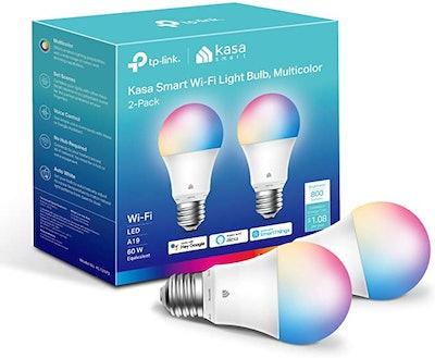 Kasa Smart Light Bulbs (2-Pack)