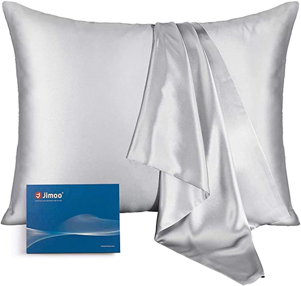 J JIMOO Natural Silk Pillowcase