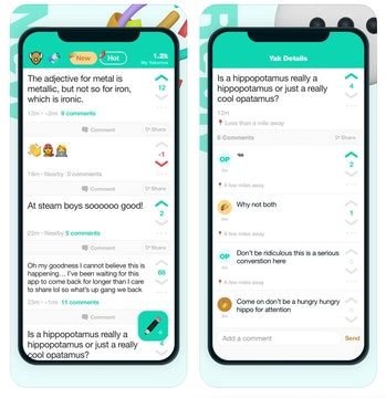 Yik Yak has relaunched four years after shutting down. The anonymous social network was controversia...