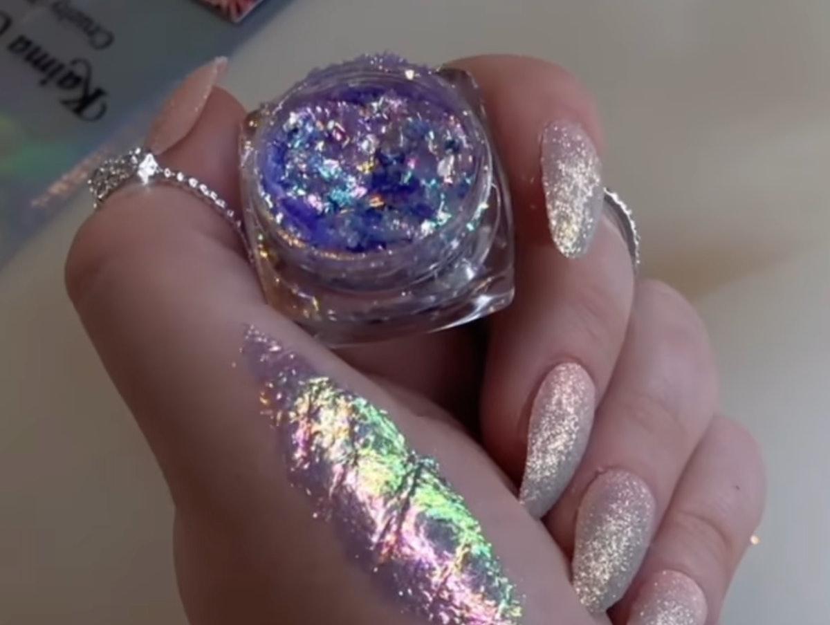Kaima Cosmetics review - Glitter Eyeshadow