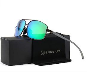 SUNGAIT Ultra-Lightweight Polarized Sunglasses