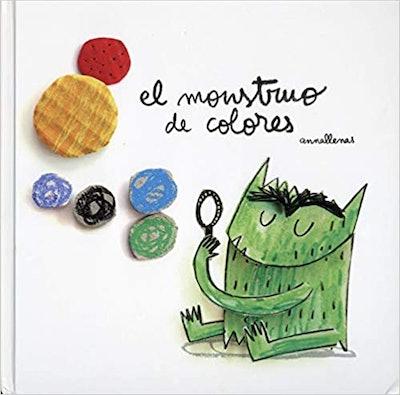 'El Monstruo de Colores' written and illustrated by Anna Llenas Serra