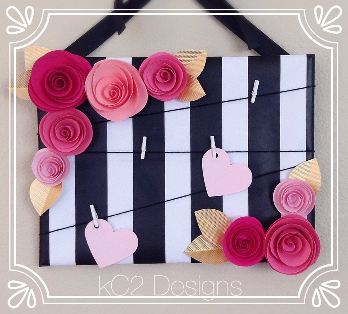 Kate Spade-Inspired Message Board
