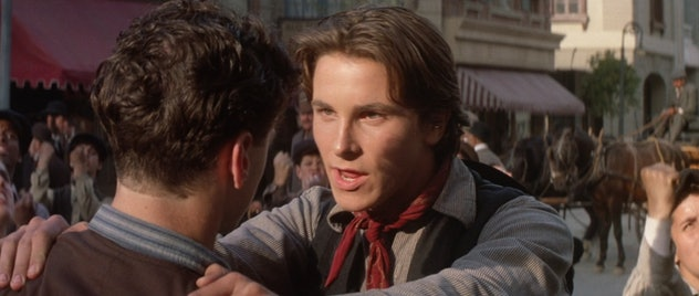 "Christian Bale as Jack ""Cowboy"" Kelly."