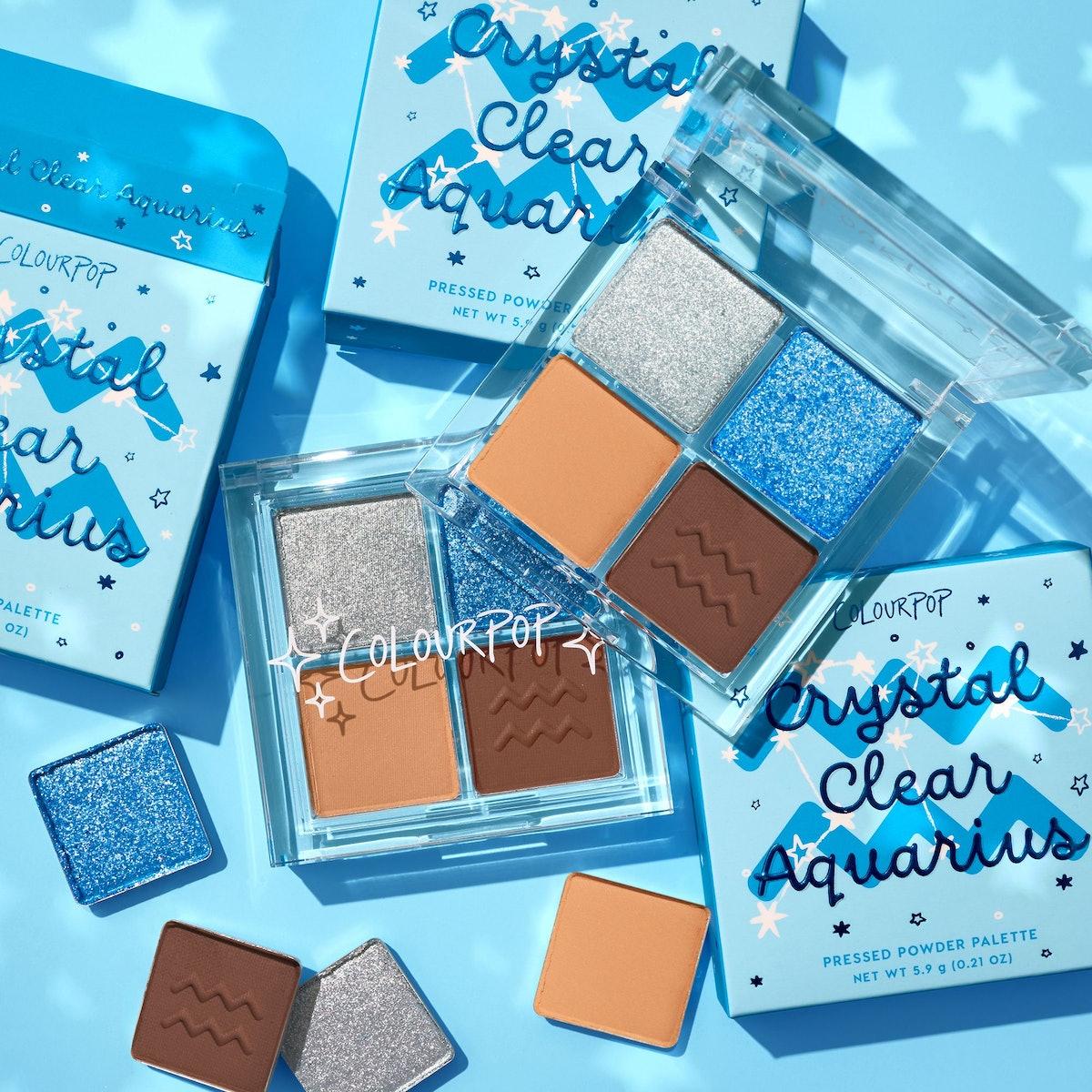 Crystal Clear Aquarius Eyeshadow Palette