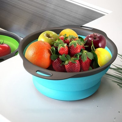 Qimh Collapsible Colanders (Set of 3)