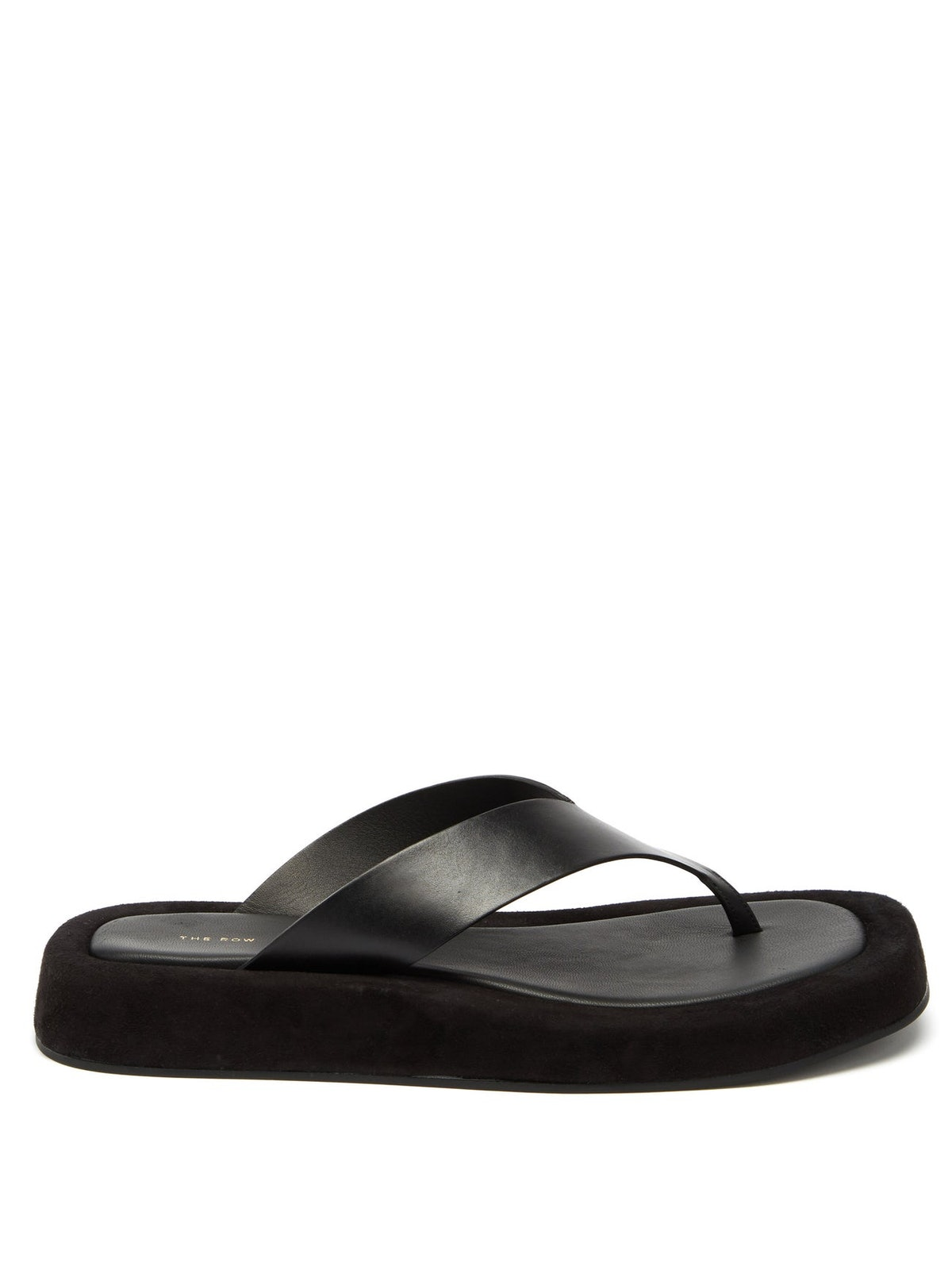 Ginza Leather And Suede Sandals