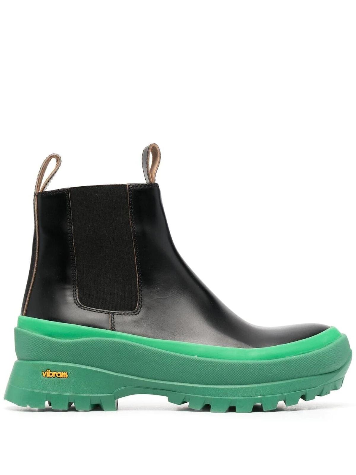 Galosh Sole Boots