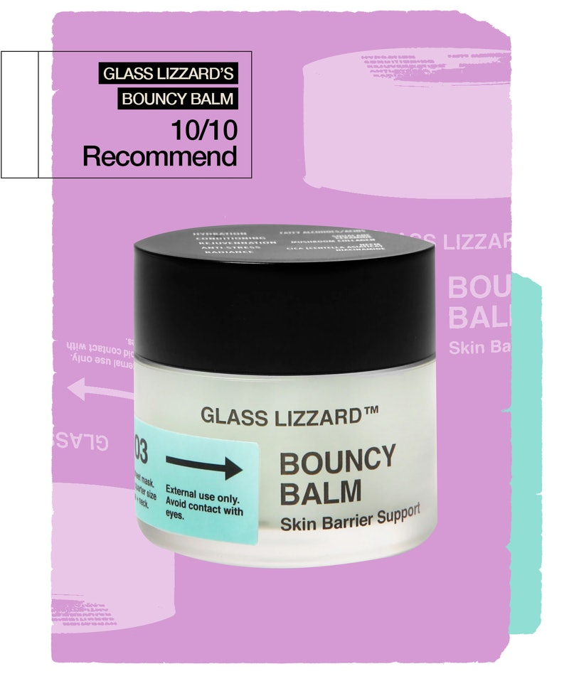 An honest review of Glass Lizzard's Bouncy Balm, a multi-use skin ointment that heals my picked zits...