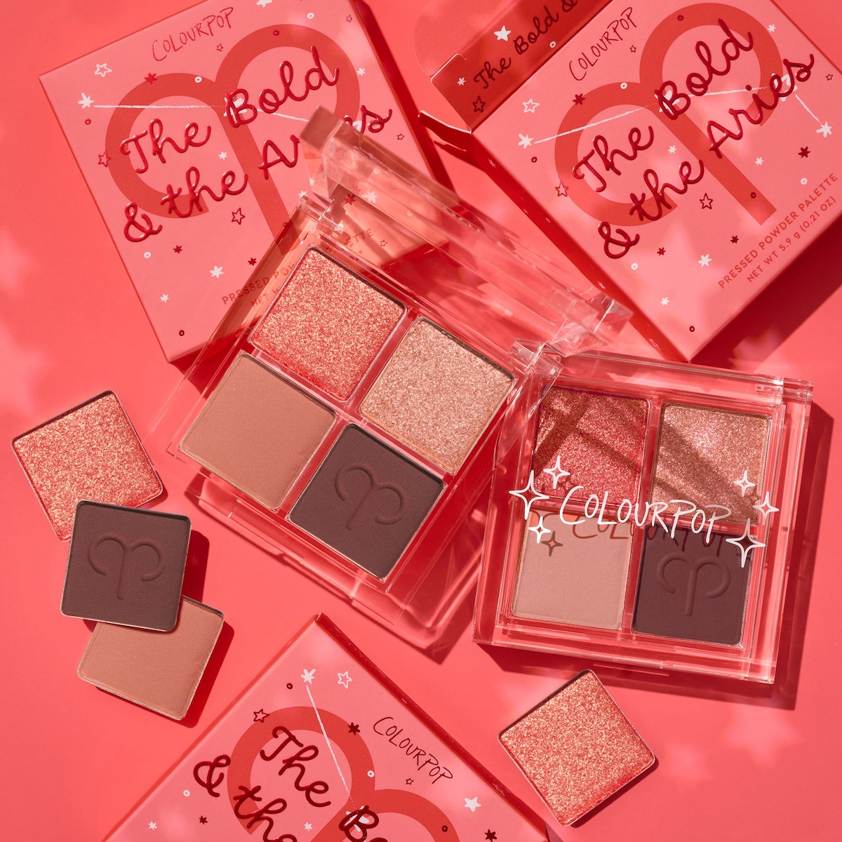 The Bold and the Aries Eyeshadow Palette