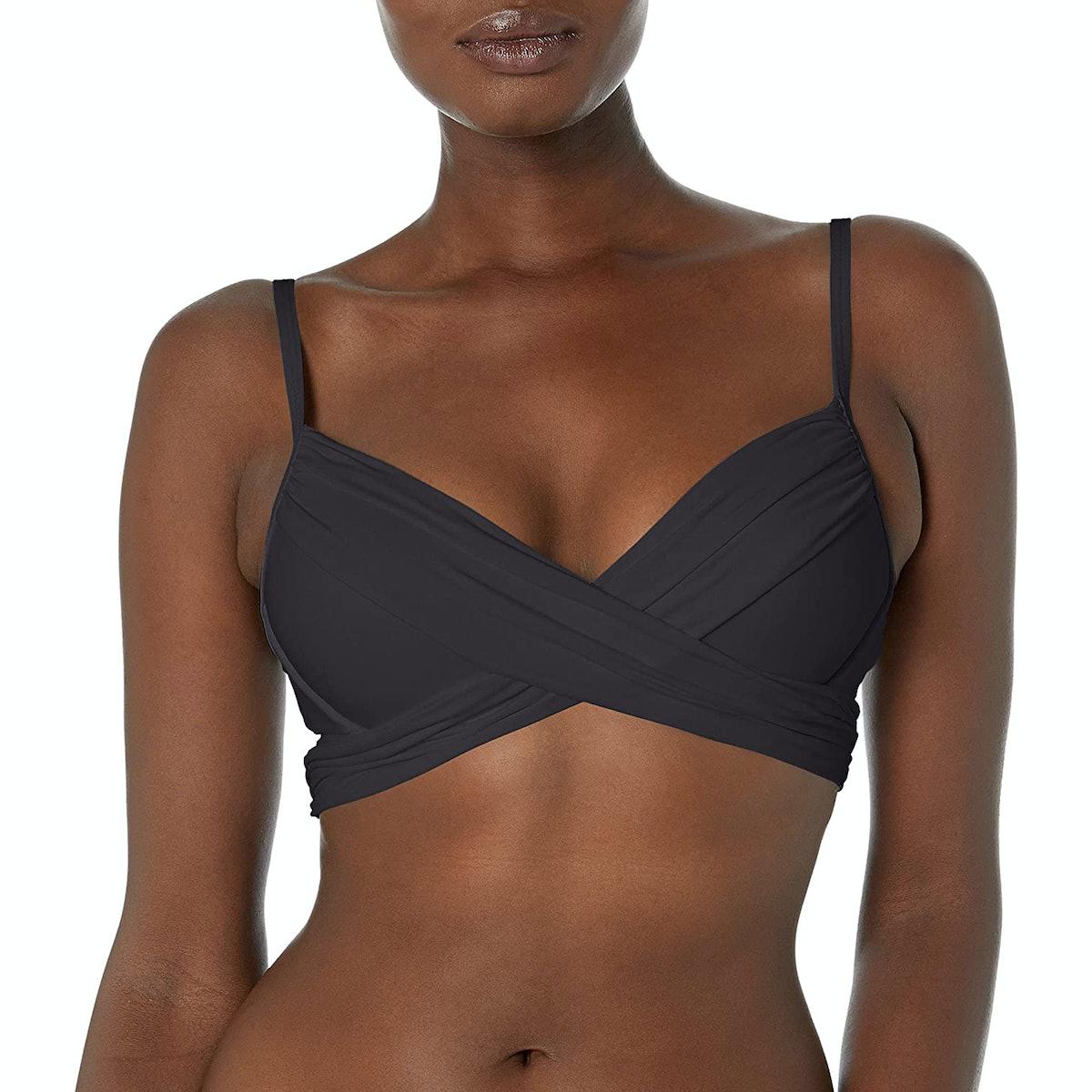La Blanca Island Goddess Underwire Push Up Bikini Top