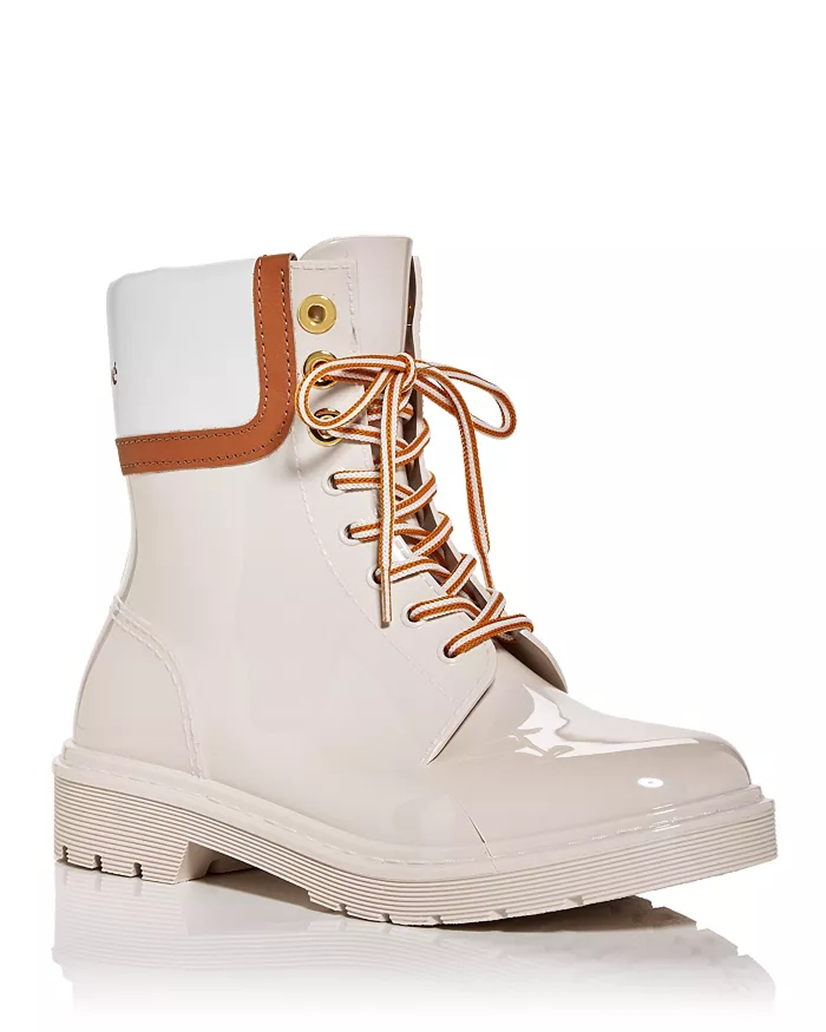See by Chloé Women's Lace Up Rain Boots