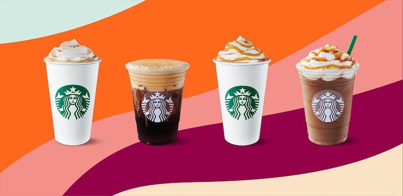 Starbucks' secret menu drinks for fall.