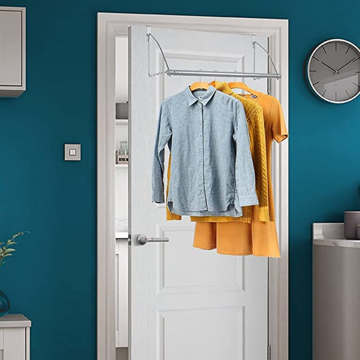 HOLDN' STORAGE Over The Door Clothes Organizer