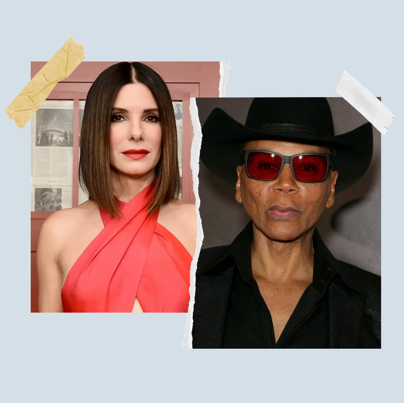 Sandra Bullock and RuPaul Charles.