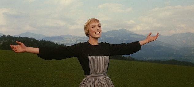 Julie Andrews as Maria.