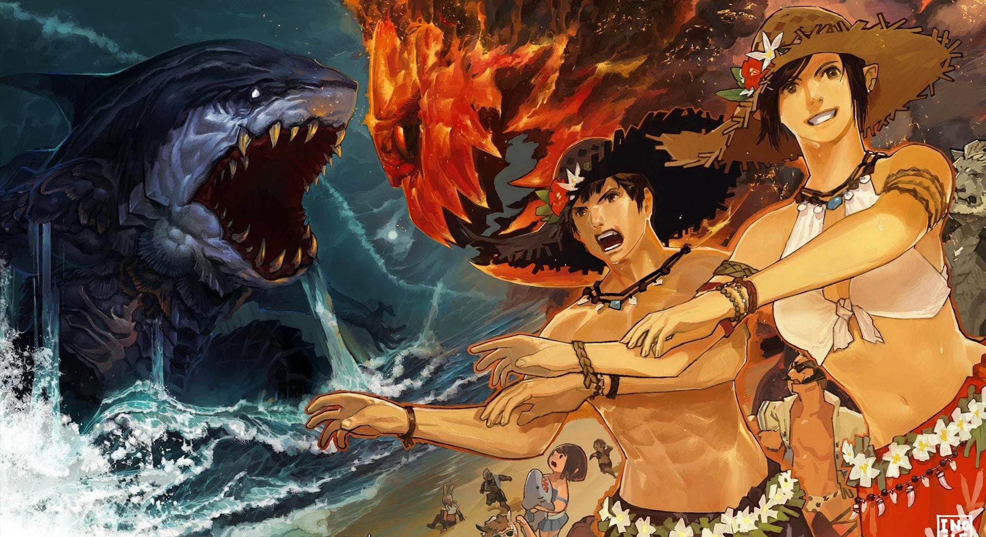 splash art from Final Fantasy 14 Moonfire Faire 2020