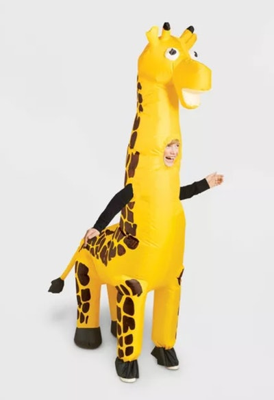 Kids' Inflatable Giraffe Halloween Costume
