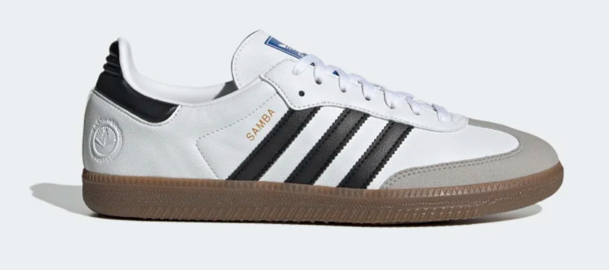 Adidas Samba OG shoes.