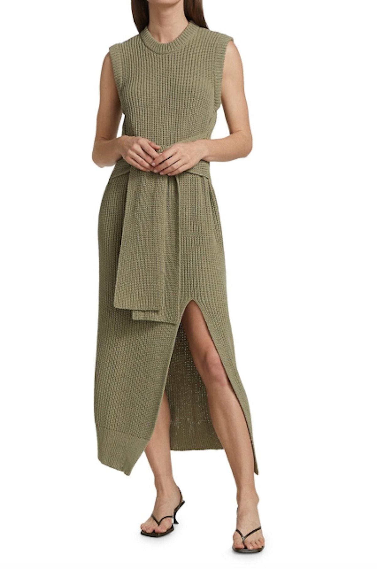 Jenae Ribbed Knit Dress