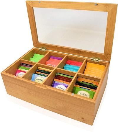 RoyalHouse Bamboo Tea Box