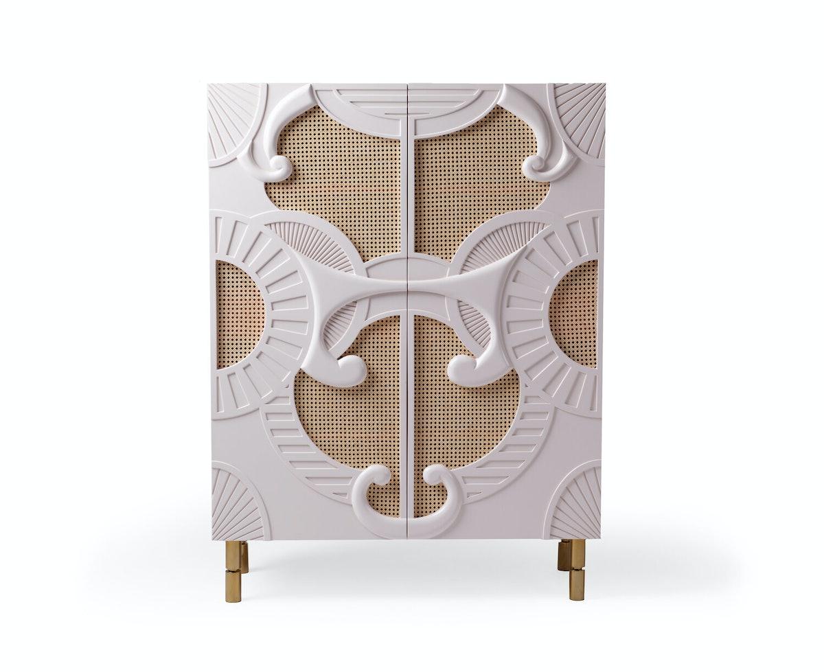 Traje De Luce Bar Cabinet