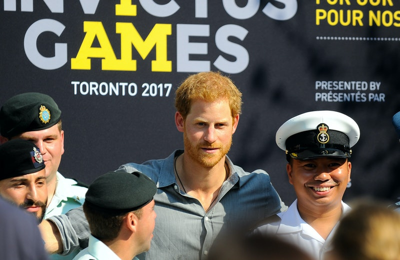 Prince Harry at the Invictus Games in 2017