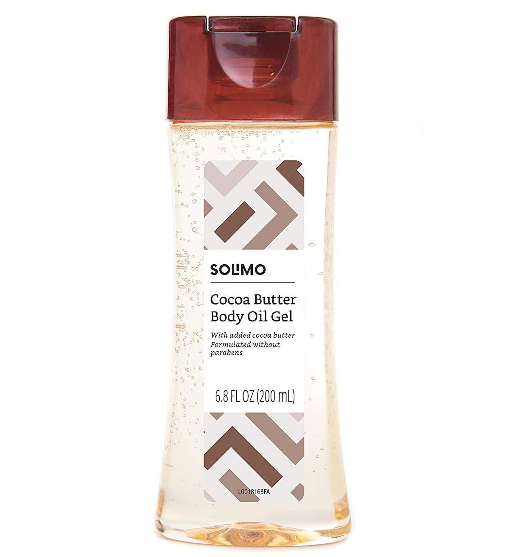 Amazon Brand - Solimo Body Oil Gel